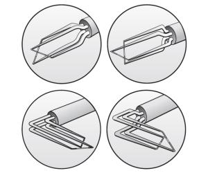 Dual-sensor fiber-film probes
