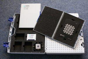 Image of DIC calibration target