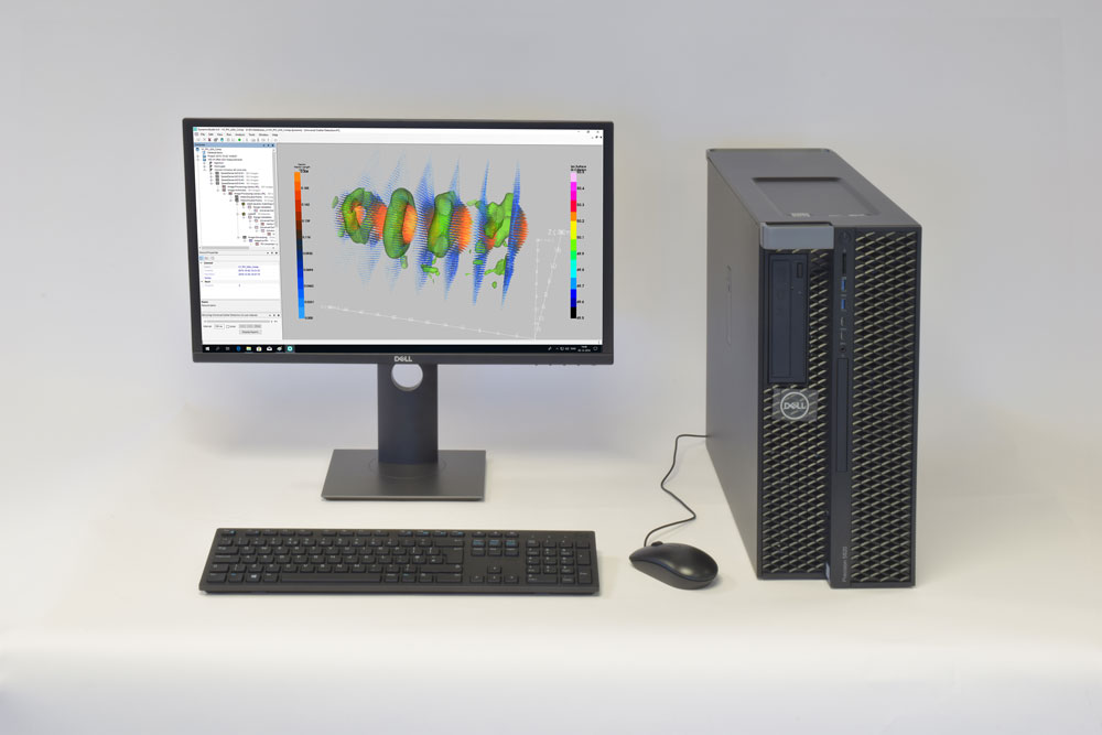 image of pc workstation