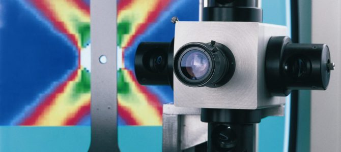 Image of The Characterization of Metallic Alloys during Tensile Tests with ESPI