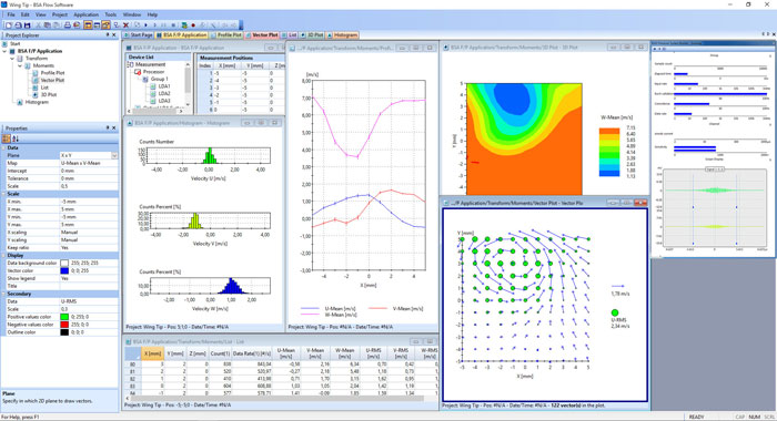 image of BSA Flow Software