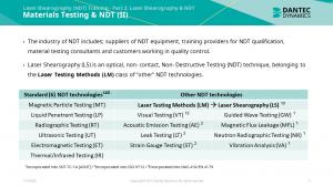 Figure 3: Part 2 – Materials Testing & NDT