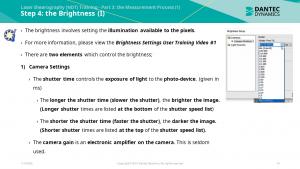 Figure 4: Part 3 – Brightness