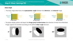 Figure 7: Part 4 – Shearing Settings