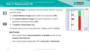Figure 8: Part 4 – Measurement (Thermal Excitation)