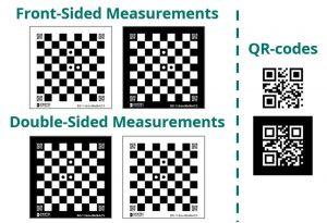 A (custom) printed calibration target