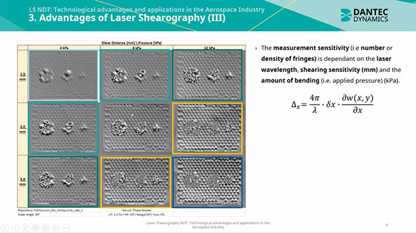 laser shearography for aerospace ndt