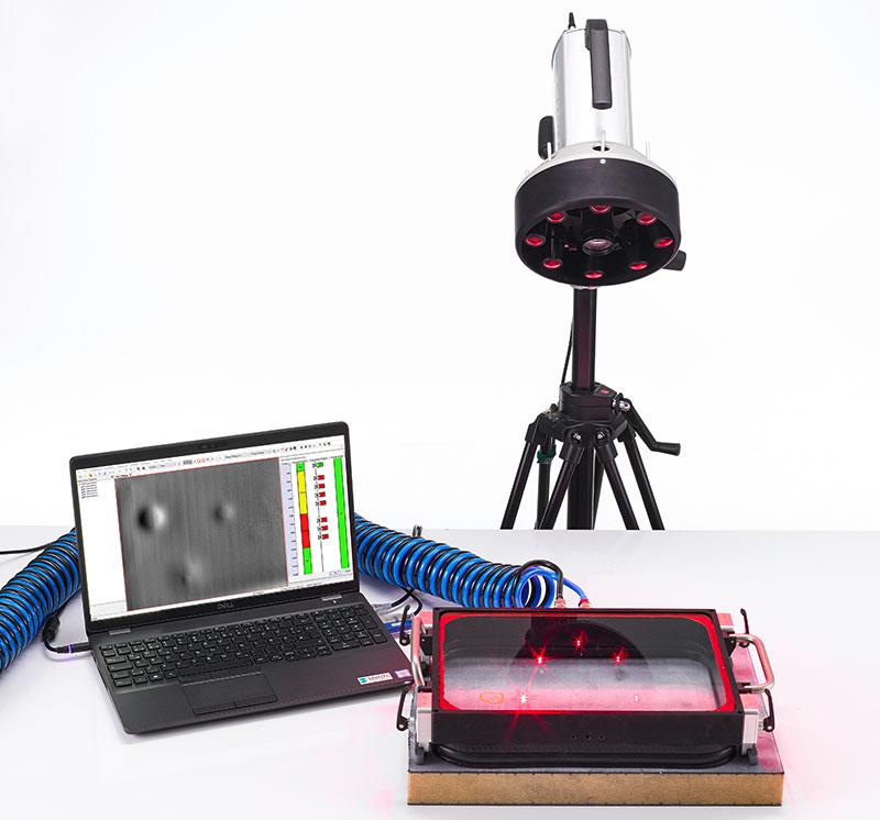 flawexplorer with manual vacuum hood