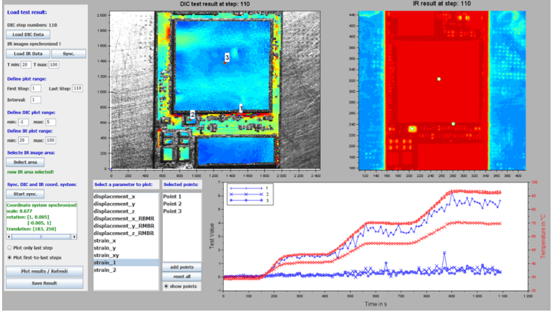 Figure 9 - IR-Camera-with-DIC-Measurement-analysis