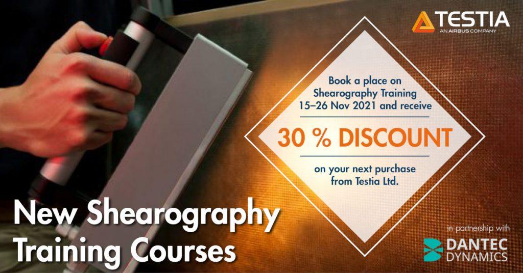 New Shearography Courses with Testia